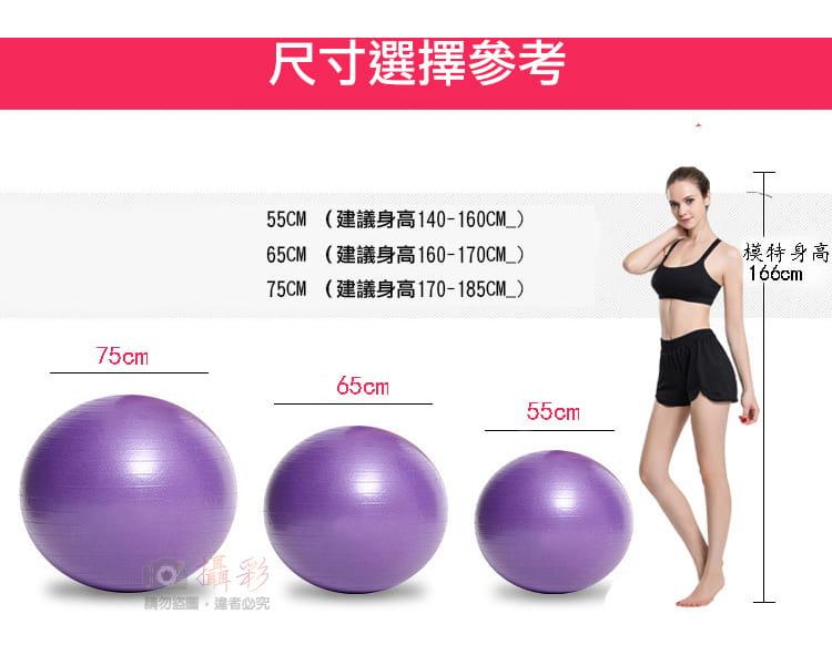 瑜珈球 直徑75cm 3