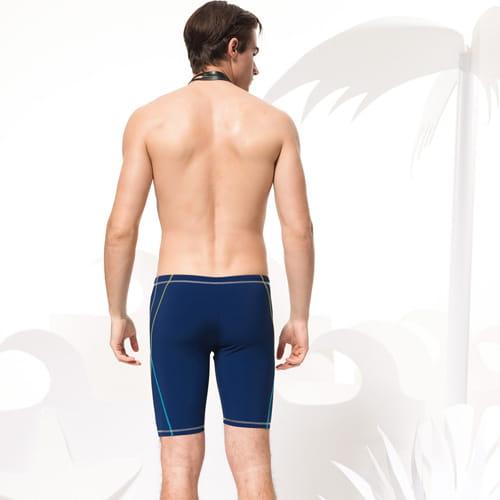【SARBIS沙兒斯】泡湯SPA七分泳褲附泳帽B55616 2