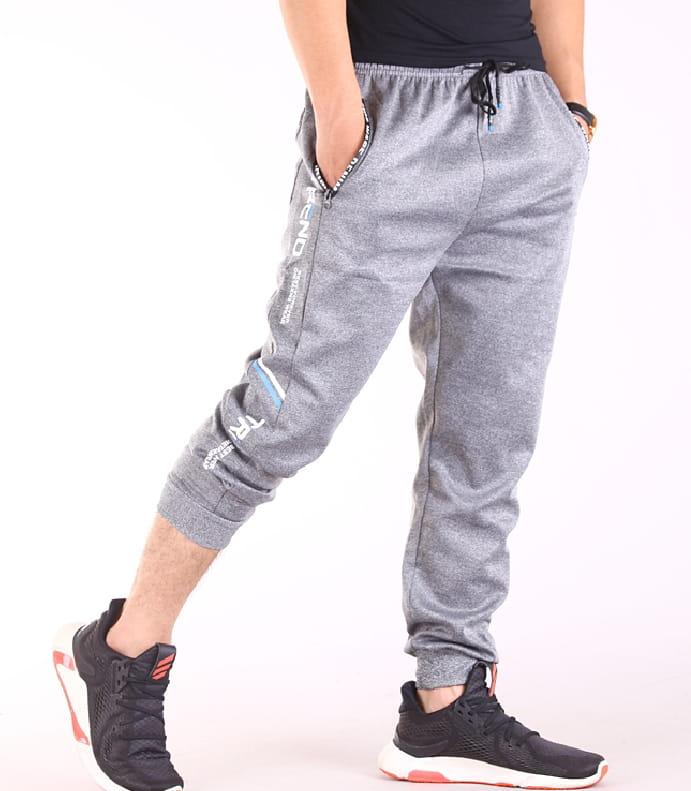 【CS衣舖】輕量運動褲 縮口褲 機能 透氣 鬆緊腰圍 防掉拉鍊口袋 兩色 8