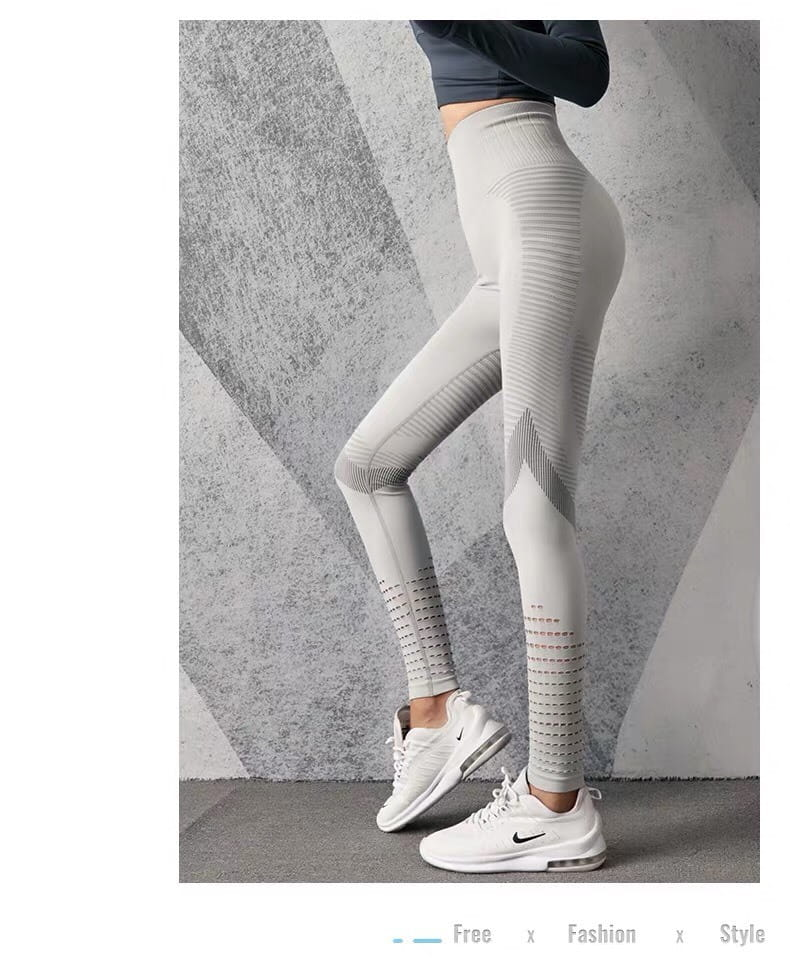 運動長褲無縫大尺碼S-XL韻律有氧跑步瑜珈-KOI 9
