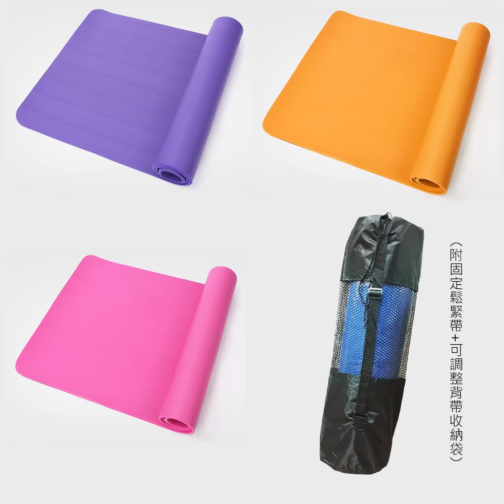 厚款10mm 環保防滑瑜珈墊 (180cm) 8