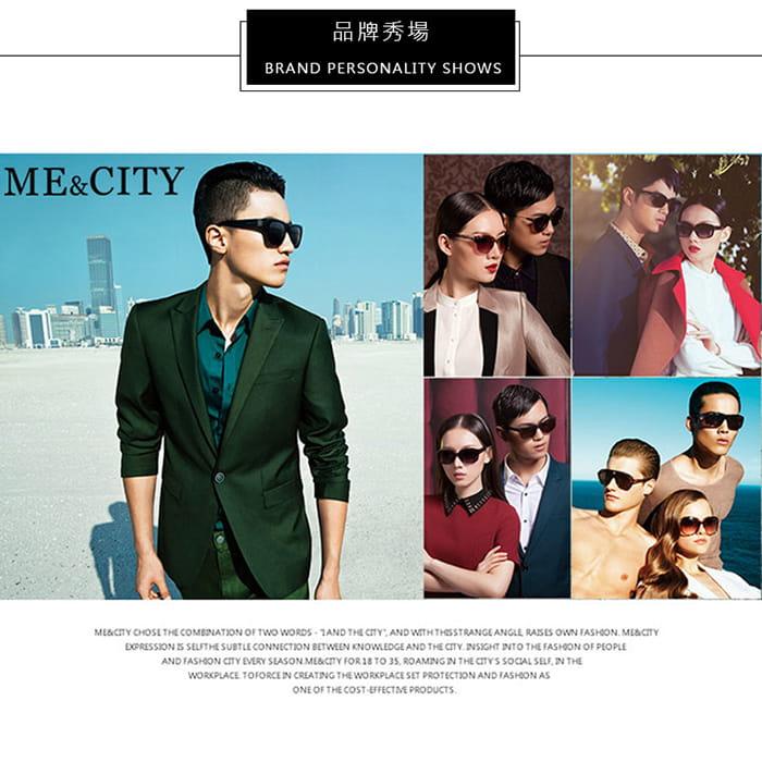 【ME&CITY】 甜美心型鎖鍊太陽眼鏡 抗UV (ME 1223 L01) 11