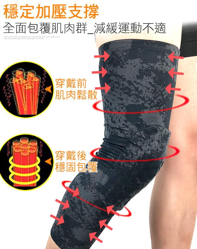 加長蜂窩墊防撞腿套   護膝蓋關節蜂巢式束腿套 6