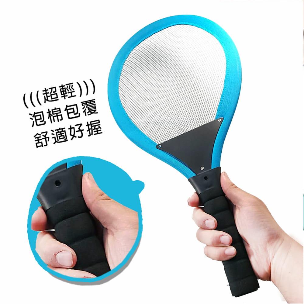 【GCT生活嚴選】【GCT玩具嚴選】雙人大羽球拍組 2