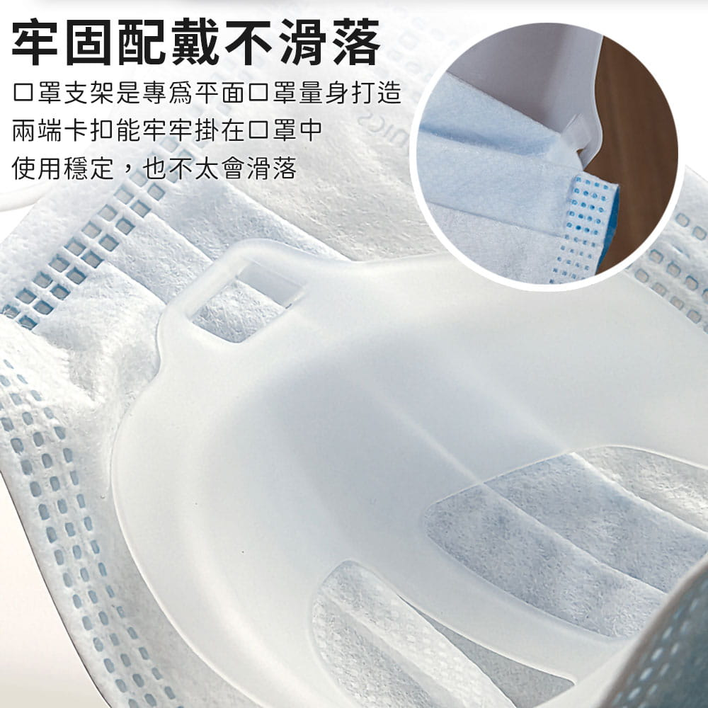 升級可水洗透氣口罩支架 6
