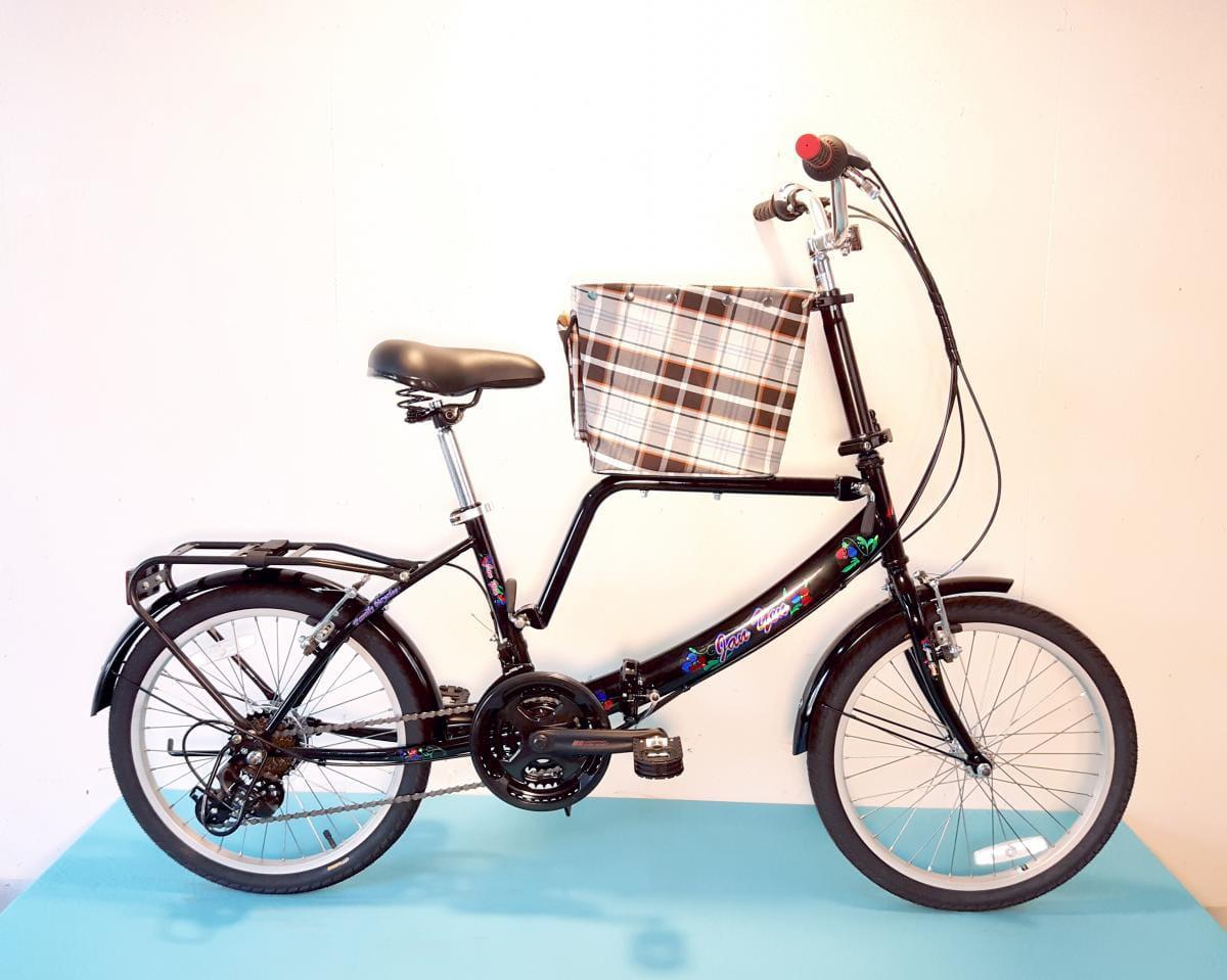 台製 20吋 21速 SHIMANO 摺疊 小籃 寵物腳踏車 3
