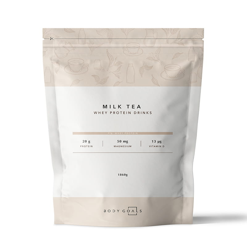 Body Goals乳清蛋白飲大包裝-英式奶茶