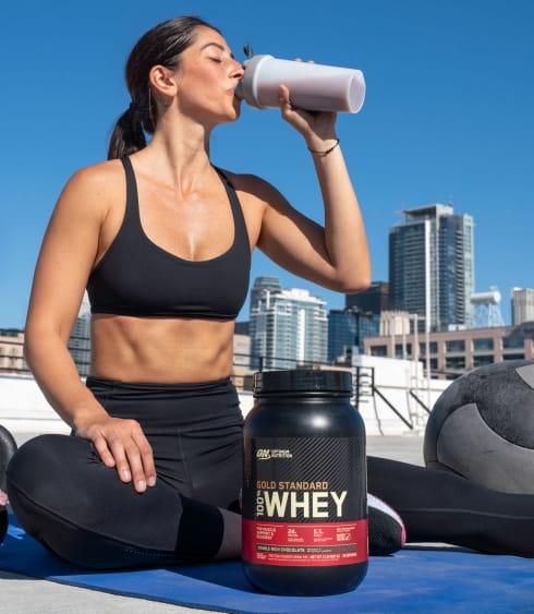 【ON 歐恩】[美國ON官方授權經銷] 金牌乳清蛋白 5磅 Whey 100% 乳清 高蛋白 7