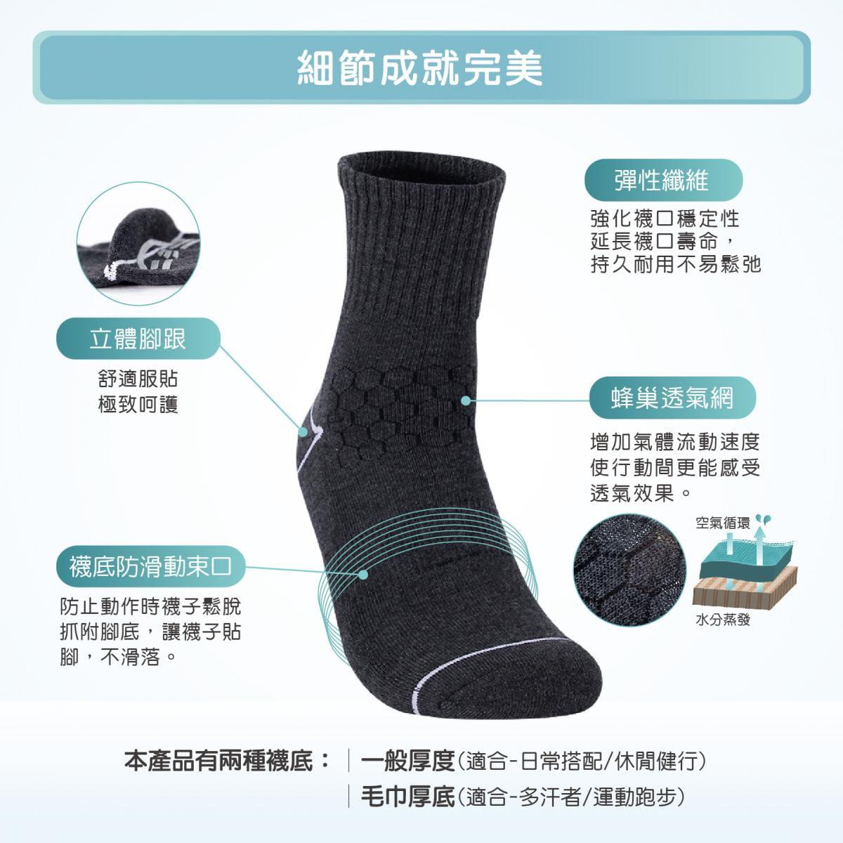 【FAV】防滑運動襪 1