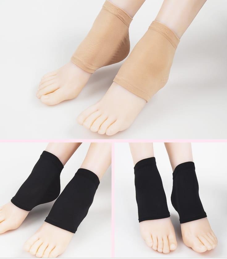 日夜間保濕防乾裂護足套(雙) 男女款腳後跟護足襪套 6
