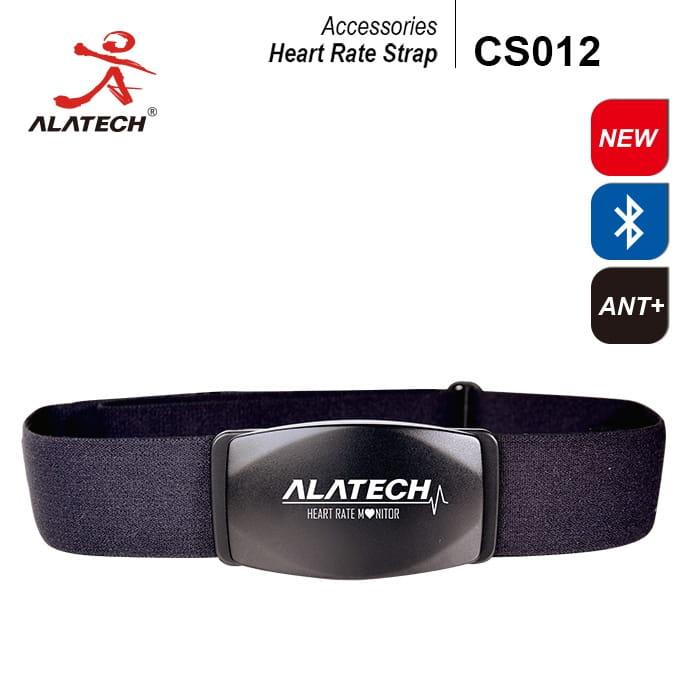 雙頻前扣式心率帶ALATECH CS012