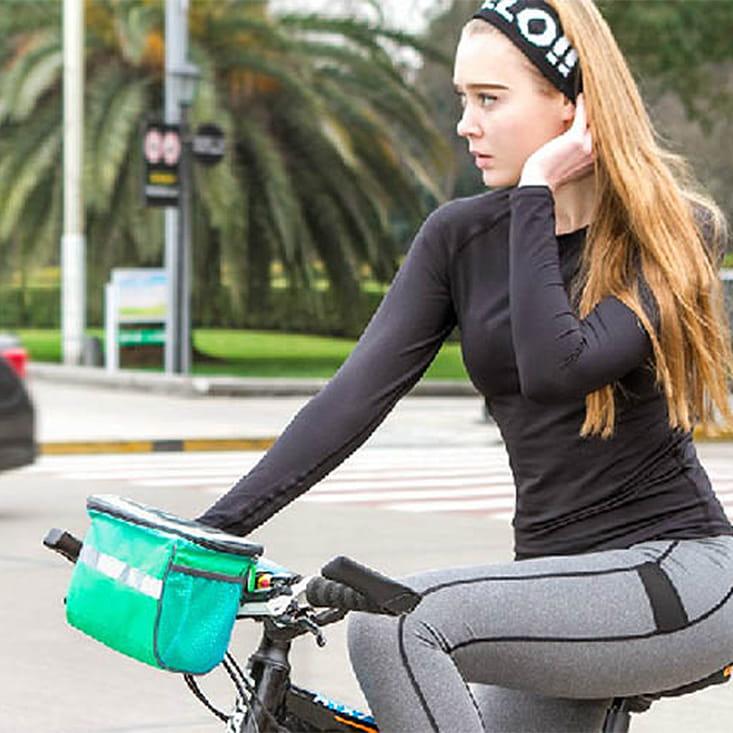 【E.City】大容量自行車手機觸控立體方包 3