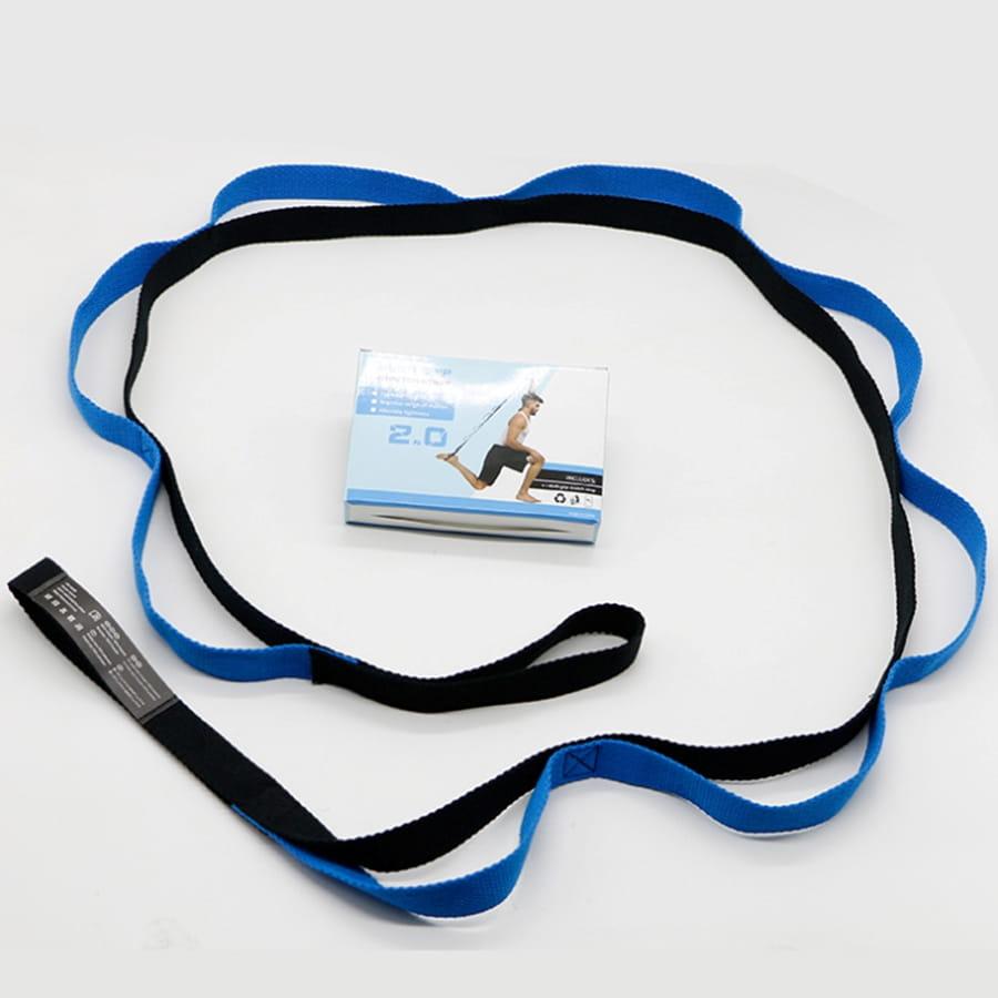 【10節 瑜珈帶】自由調整 瑜珈伸展帶 拉筋帶 瑜珈吊帶 8
