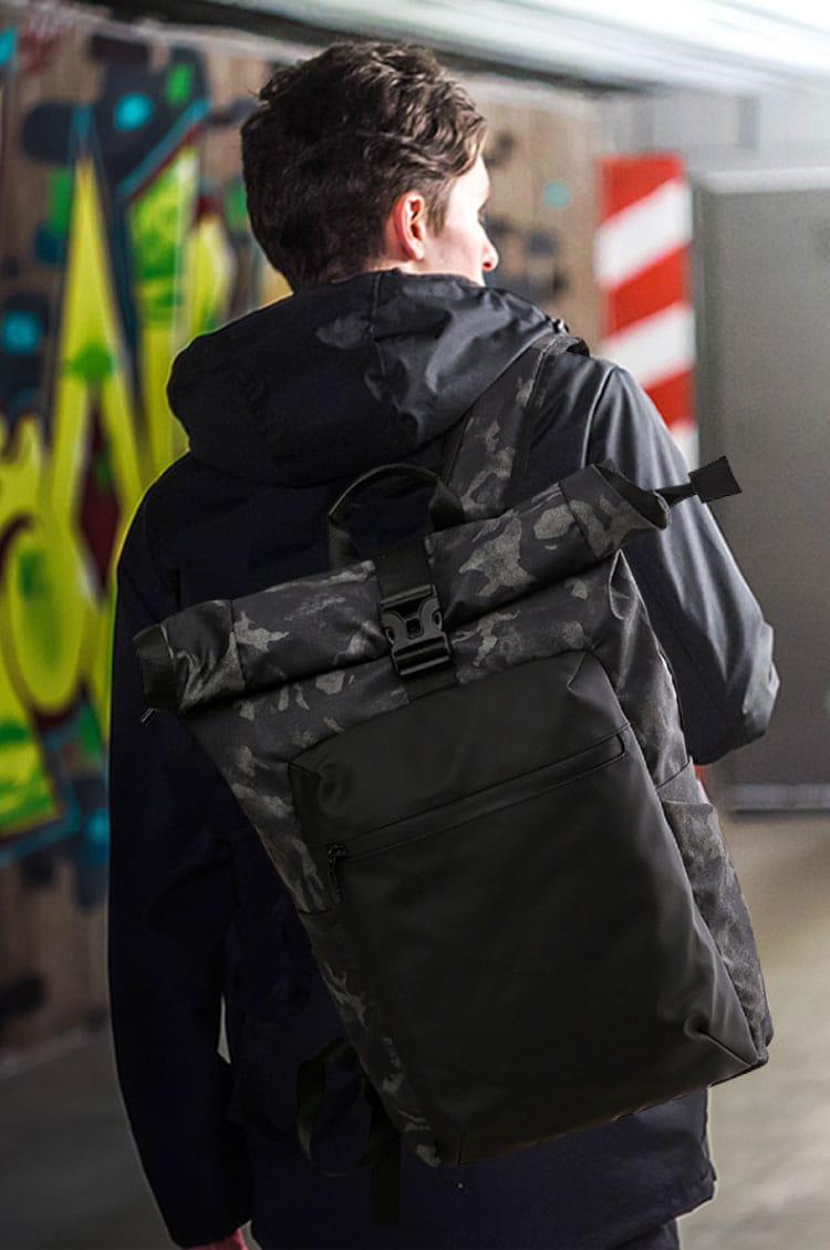 防水迷彩雙肩背包 1