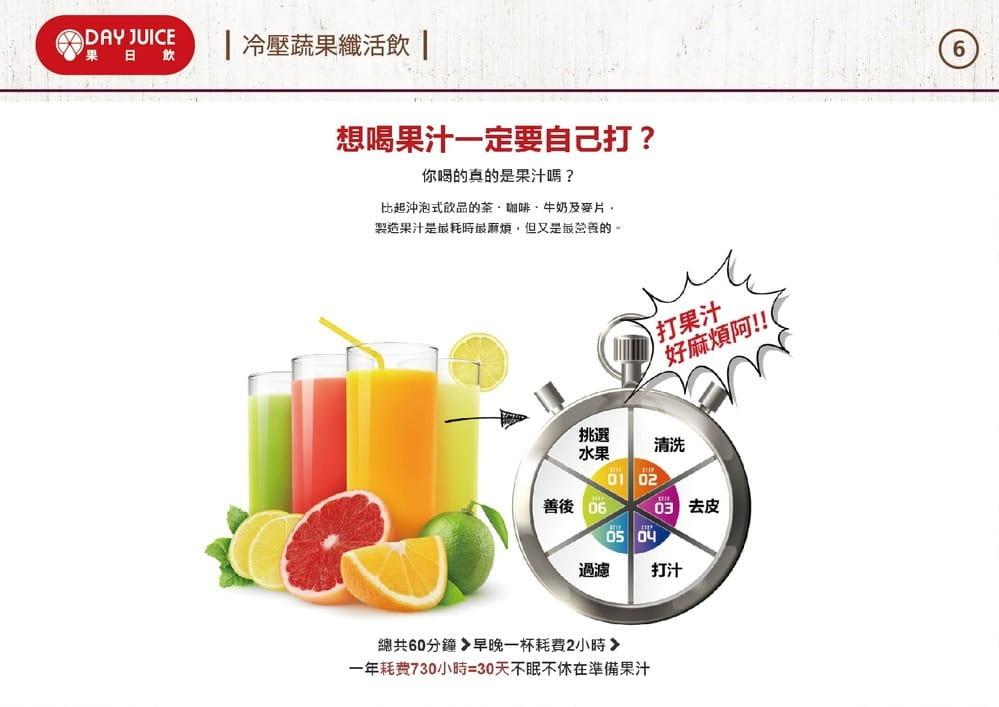 【DayJuice 果日飲】Day Juice 果日飲 冷壓蔬果纖活飲7-12號 (6入) 5
