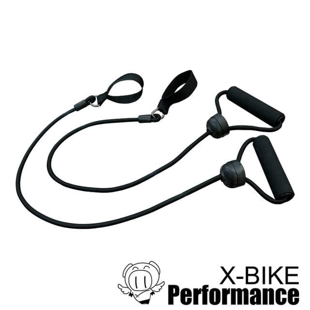 健身伸展彈力繩/拉力繩(一對) LS100
