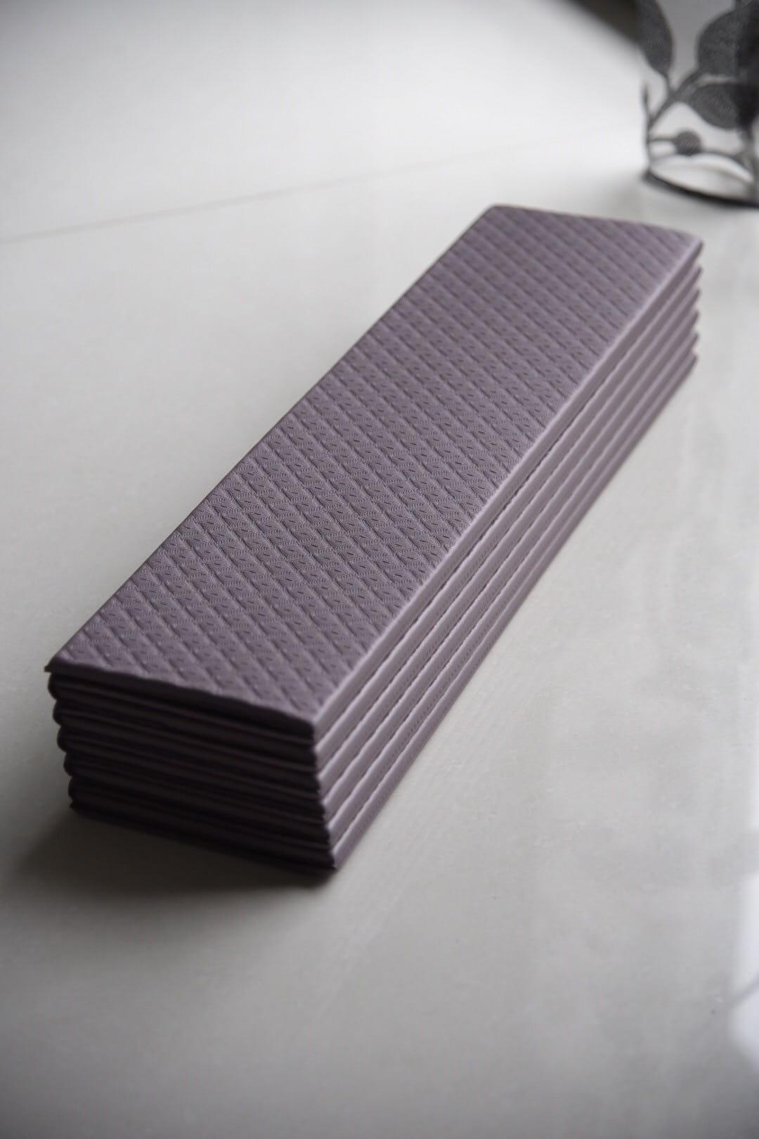 【QMAT】 12折疊瑜珈墊 一般雙色 8