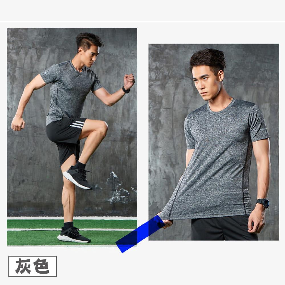 【NEW FORCE】運動機能吸濕排汗衫-4色可選 9