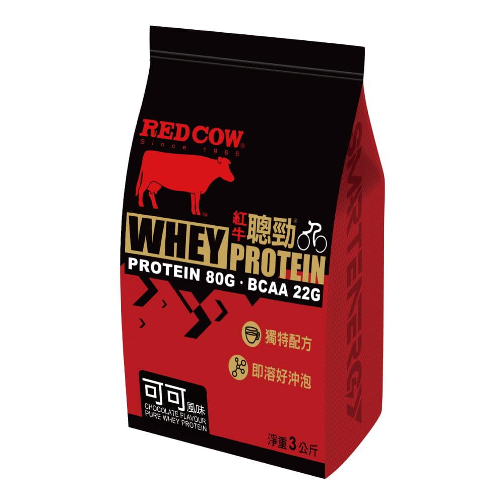 【紅牛聰勁】【紅牛】聰勁即溶乳清蛋白-可可風味(3公斤) 0