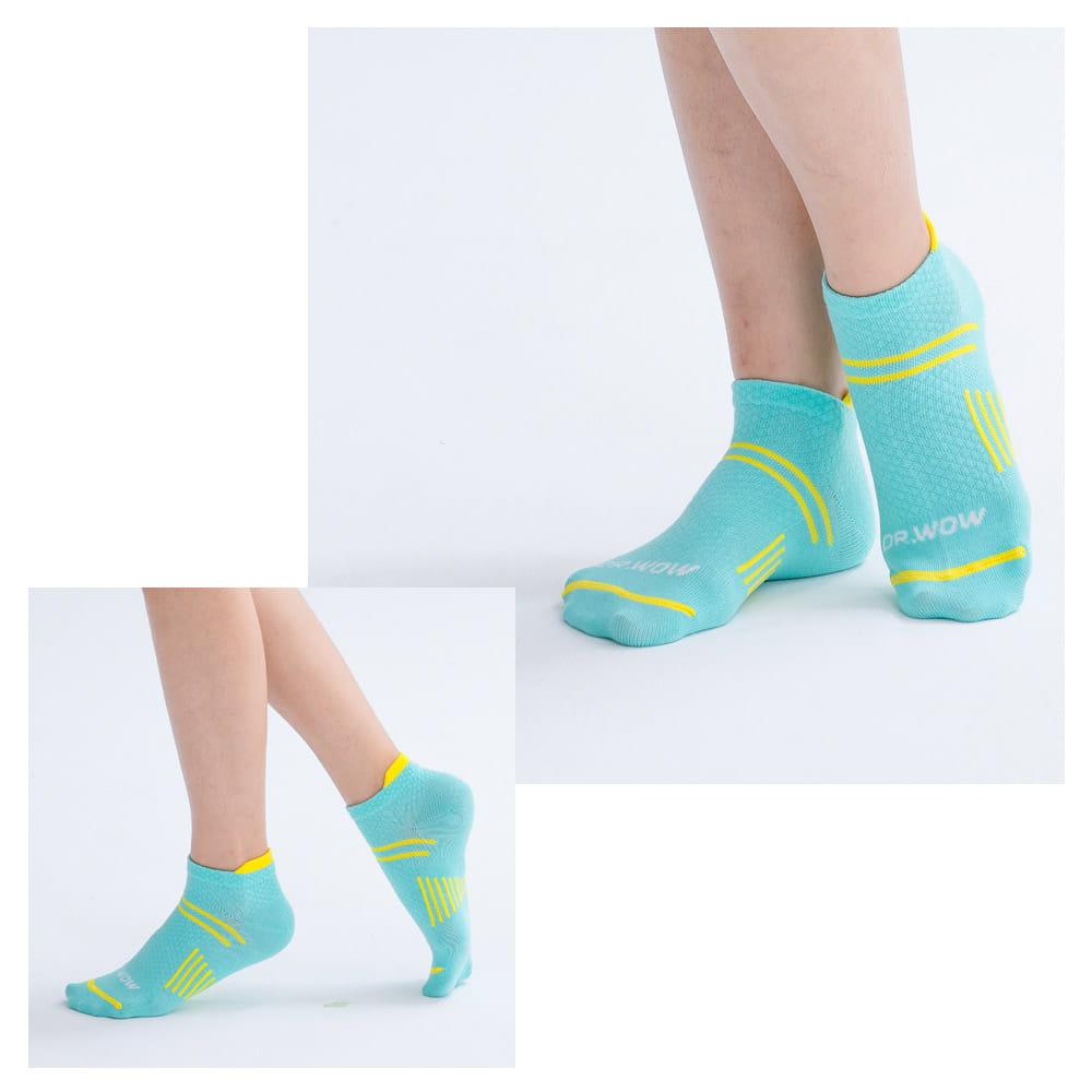 萊卡棉吸排透氣足弓機能平口襪(男/女款) 5