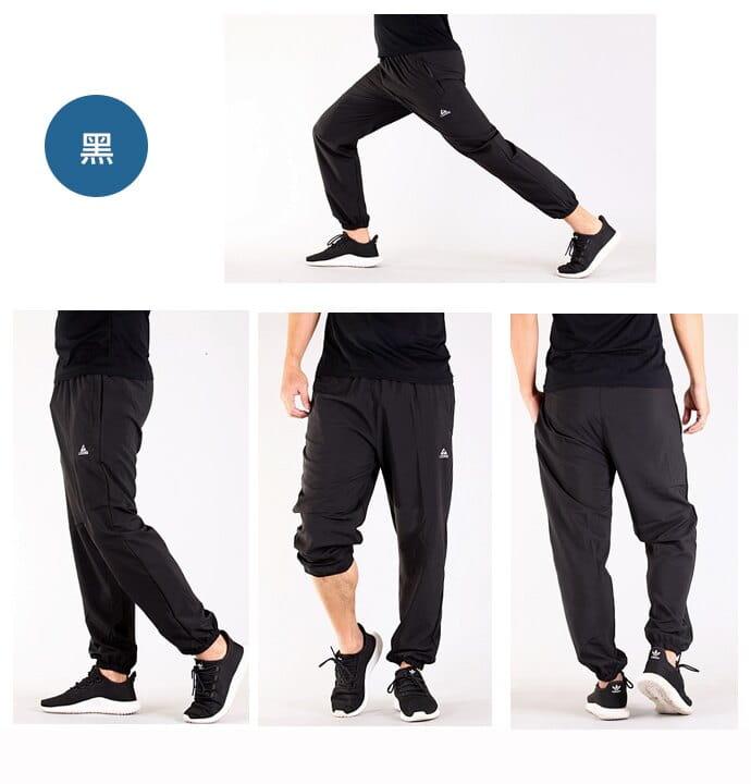 【CS衣舖】加大尺碼34-48腰 涼感吸濕排汗 口袋拉鍊 運動褲 7