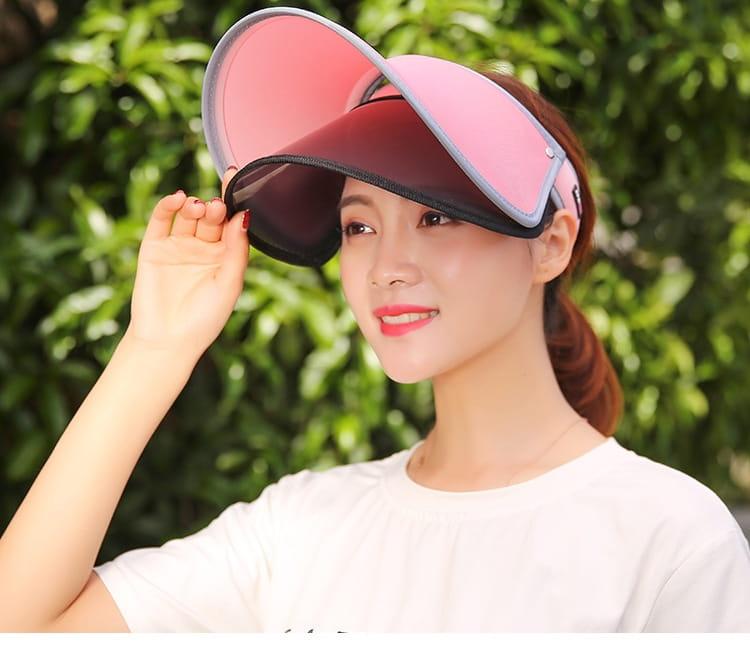 【JAR嚴選】升級版抗UV雙層可調式遮陽帽 6