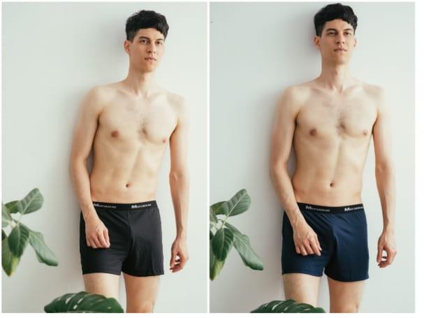 【QI藻土屋 】MIT熱銷款極舒適吸濕排汗涼感內褲平口褲四角褲運動內褲 3色 90226 1