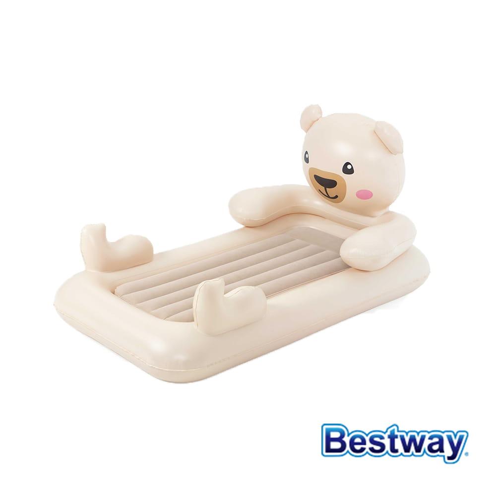 熊熊抱抱兒童充氣床 午休床
