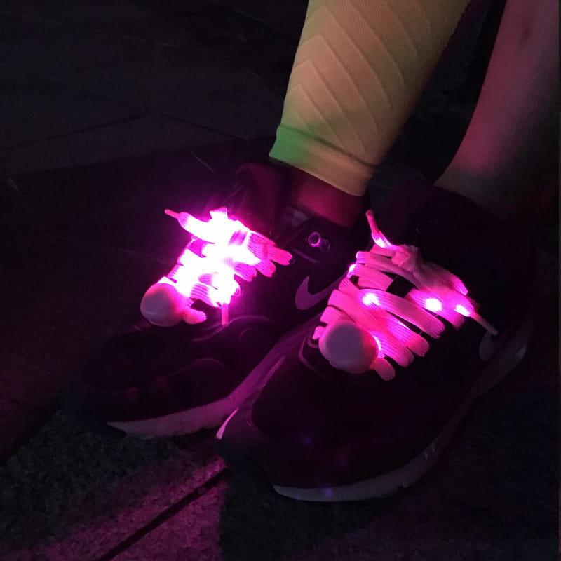 【LED 三段式發光鞋帶】 1