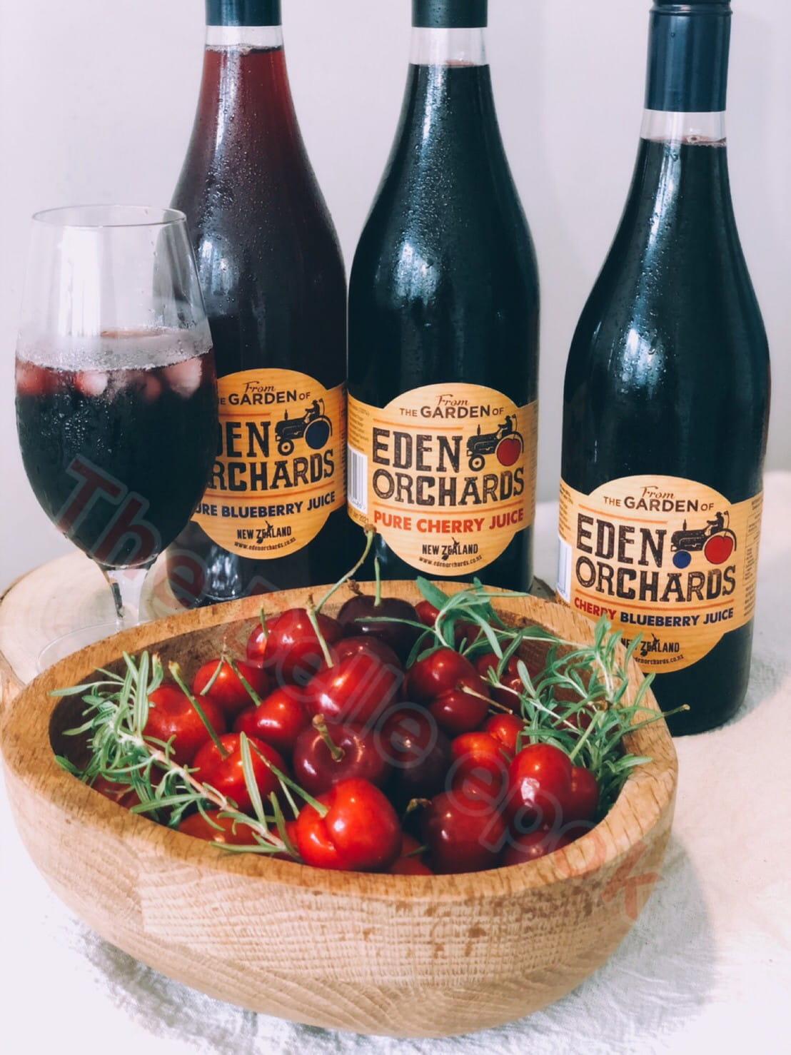 紐西蘭進口-伊甸莊園100%櫻桃汁,100%藍莓汁,綜合果汁 果汁飲料運動補給 夏天 養顏美容 0