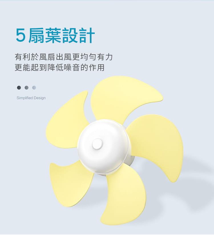 【DaoDi】USB迷你摺疊風扇 (伸縮摺疊桌上型風扇) 13