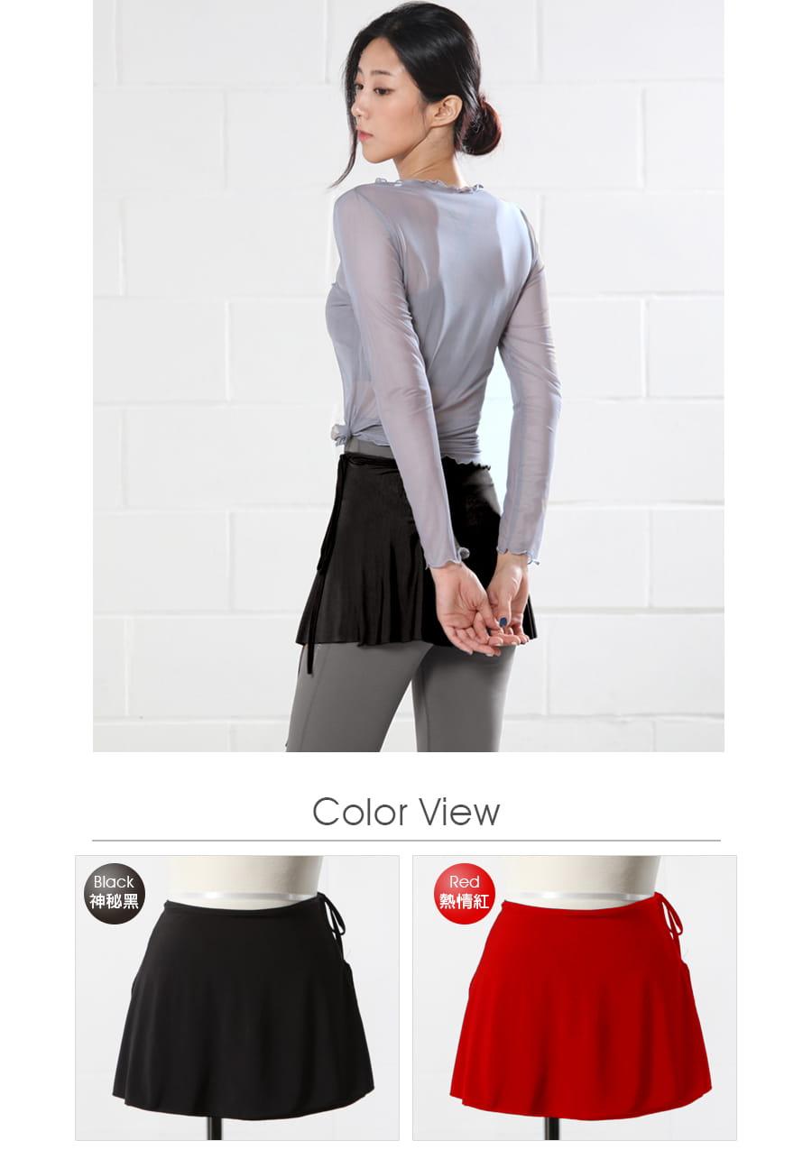 【Un-Sport高機能】高彈透氣萬用一片式運動短裙(瑜伽/健身/跳舞) 5