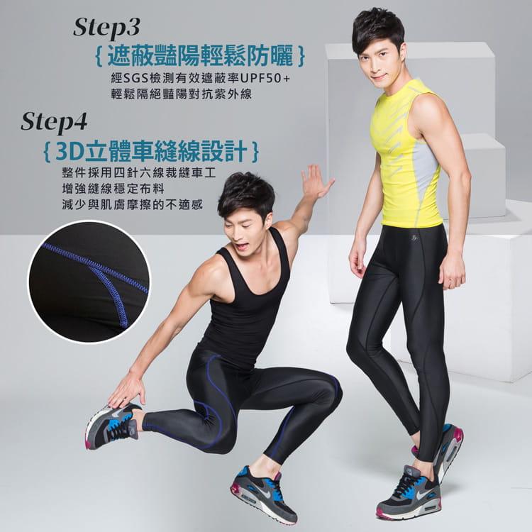 【BeautyFocus】男女機能驗證運動壓力褲5821-22 8
