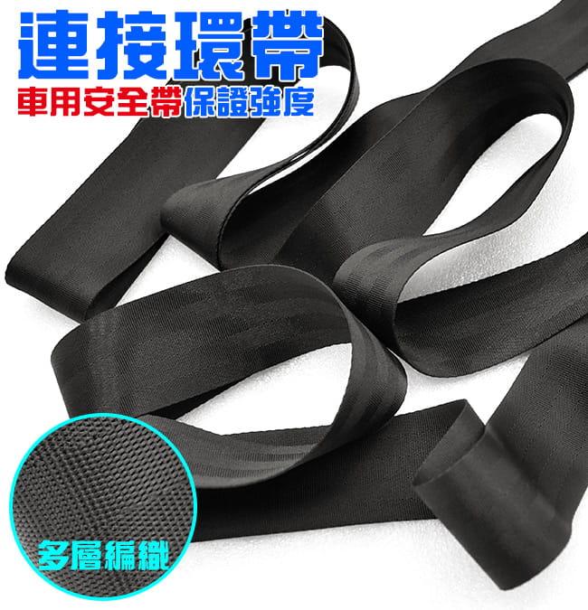 實心ABS體操吊環+車用安全帶(2入)(引體向上健身吊環帶.拉環訓練環平衡環) 5
