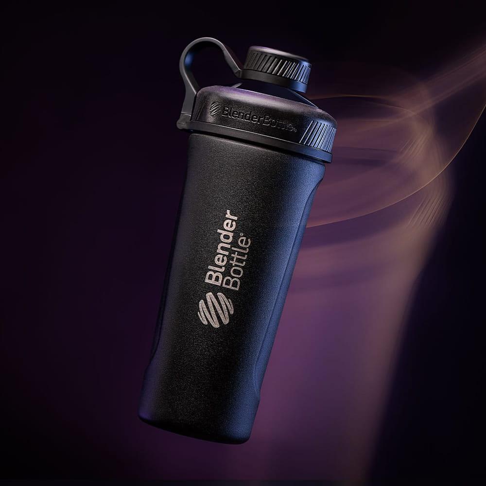 【Blender Bottle】Radian系列-雙璧真空絕緣不鏽鋼旋蓋直飲搖搖杯26oz 8