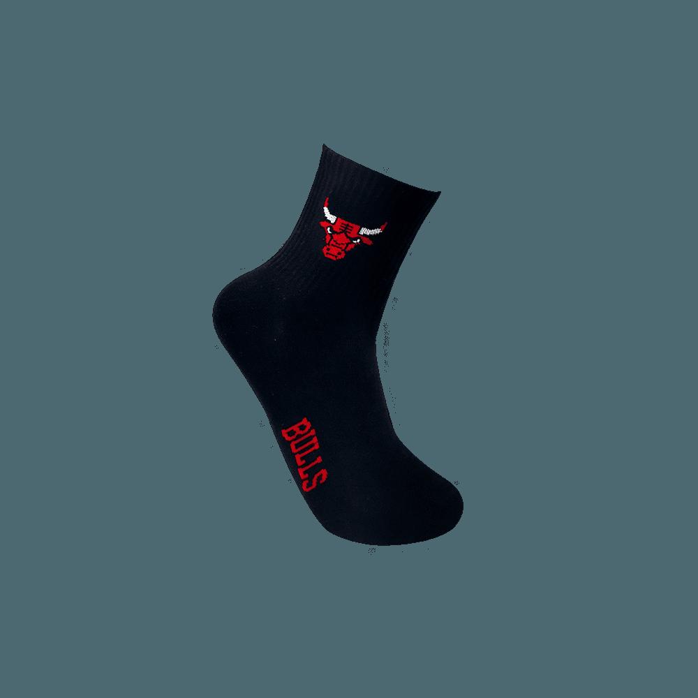 【NBA】球隊款緹花中筒襪 6