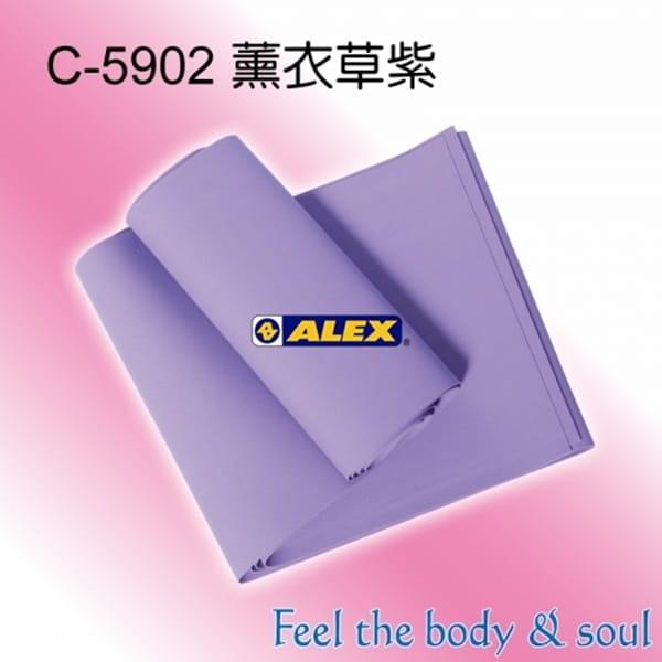 【CAIYI 凱溢】台灣製造 ALEX C-59 新式彈力帶-水藍/紫(只) 2