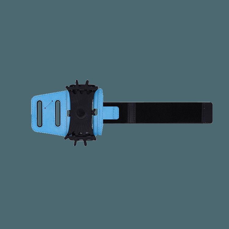 旋轉手機運動臂帶-長款窄版淺藍 0