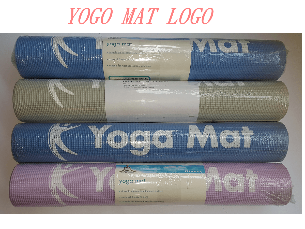 【u-fit】優質印刷logo印動瑜珈墊 1