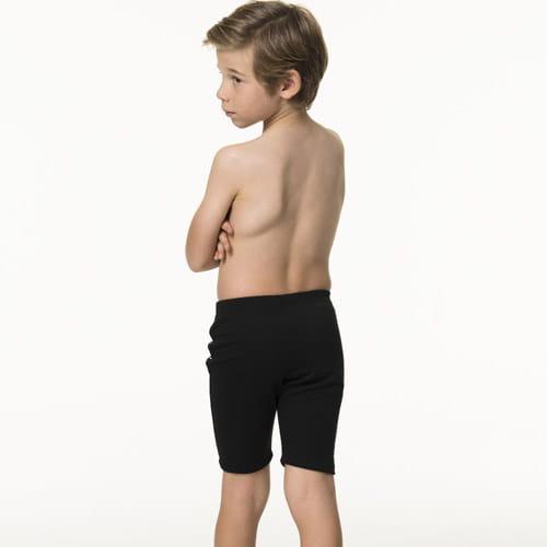 【SARBIS沙兒斯】泡湯兒童七分泳褲附泳帽B65808-0 2