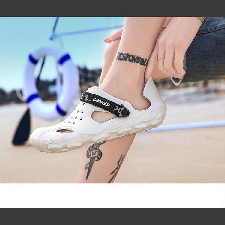 【JAR嚴選】男款厚底運動水陸二用洞洞鞋 16
