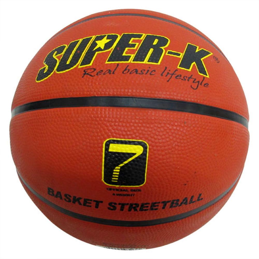 【史酷迪】SUPER-K 7號橡膠深溝籃球 0