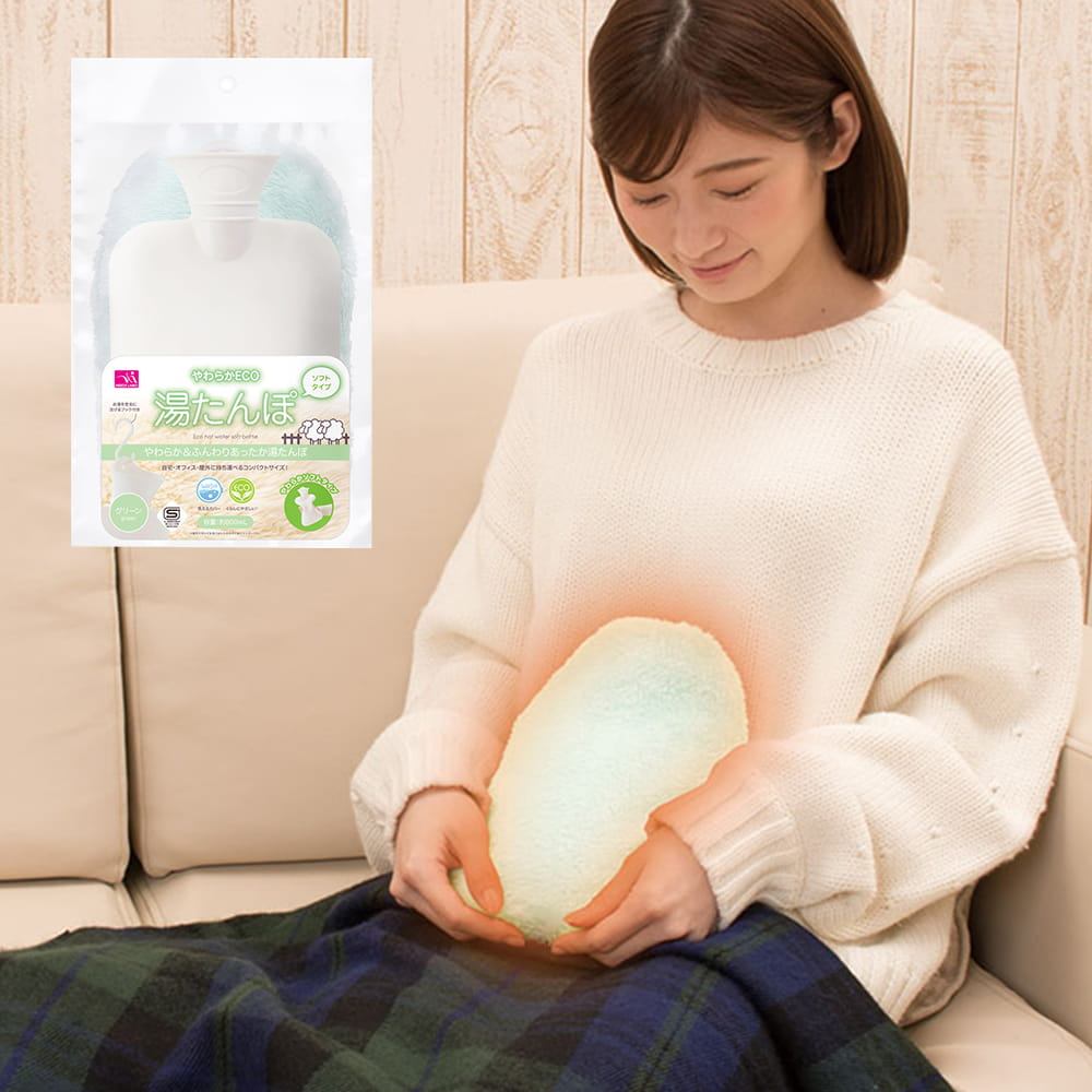 【SUNFAMILY】日本進口 ECO粉彩暖水袋 一入 4