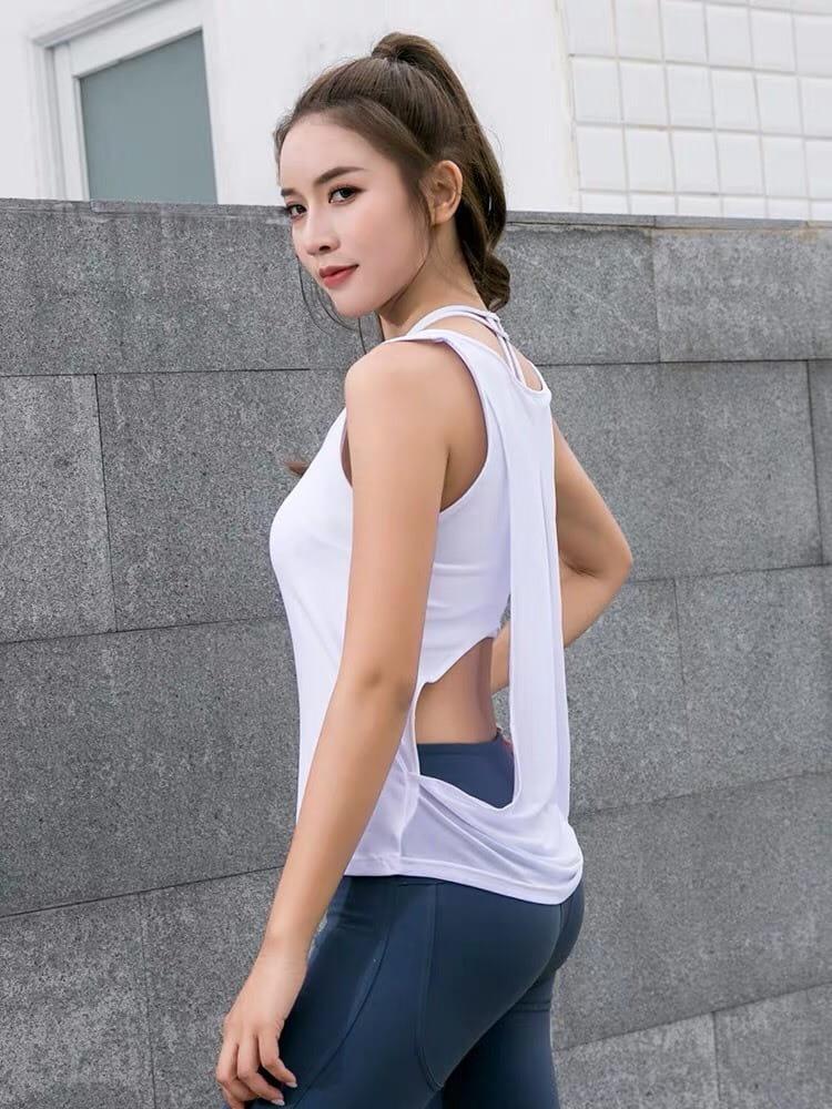 運動休閒內衣 背心上衣 運動韻律有氧跑步瑜珈LETS SEA-KOI 7