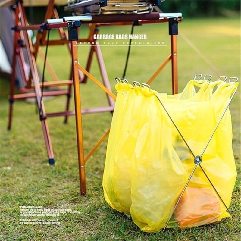 【Camp Plus】折疊垃圾架 0