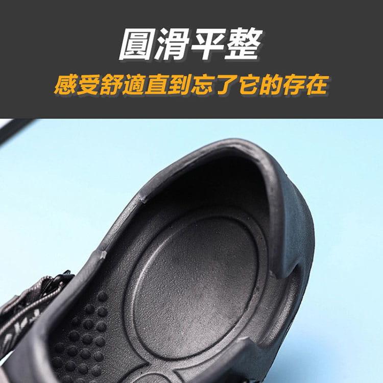 【JAR嚴選】男款厚底運動水陸二用洞洞鞋 2