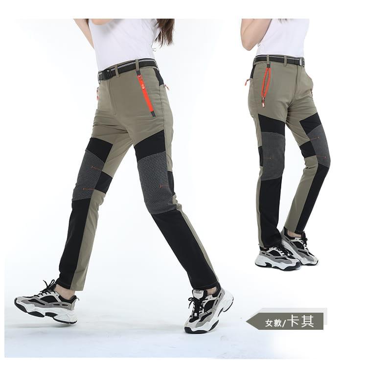 薄款拼色超彈力速乾褲 加大碼工作褲休閒褲 M-8XL碼【CP16046】 10