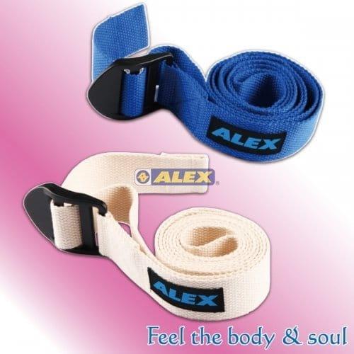【ALEX】B-23 瑜珈伸展帶(只)  瑜珈健身 1