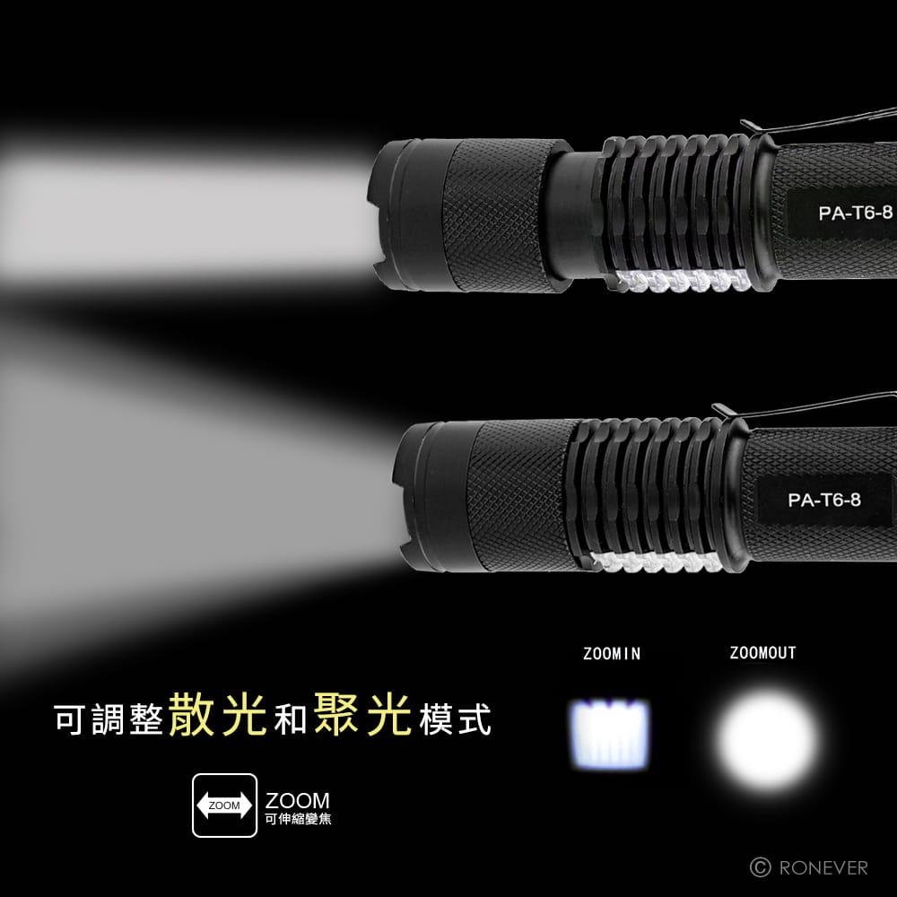 【RONEVER】PA-T6 COB工作燈手電筒 3