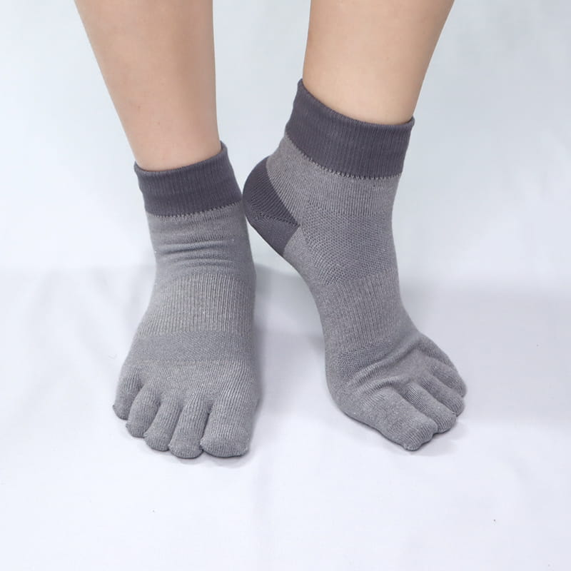 《DKGP620》登山排汗五趾短襪 全襪3倍紗線 加強耐磨 抑菌消臭 強效排汗 短襪 登山襪 五趾襪 4